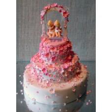 """Свадебный торт """"Любовь ангелочков"""""""