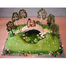 Свадебный торт №105
