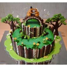 Свадебный торт №106