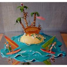Свадебный торт №107