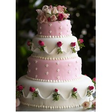 """Свадебный торт """"Королевский"""""""