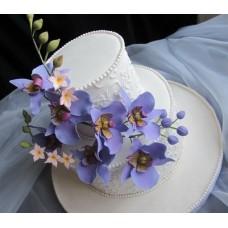 """Свадебный торт """"Весенняя шляпка"""""""