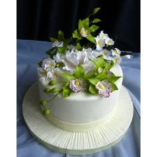 """Свадебный торт """"Веточка жасмина"""""""