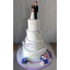 """Свадебный торт """"Жених и невеста"""""""