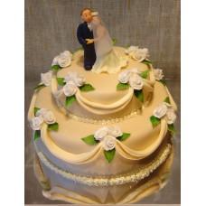 """Свадебный торт """"Свадебный вальс"""""""
