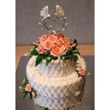 """Свадебный торт """"Символ любви"""""""