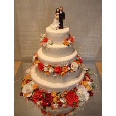 """Свадебный торт """"Венецианская свадьба"""""""