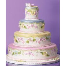 """Свадебный торт """"Сахарные птички"""""""