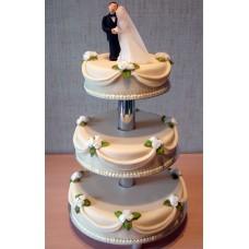 """Свадебный торт """"Венчание"""""""