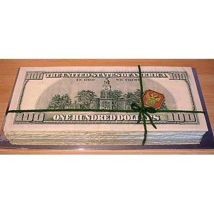 "Корпоративный торт ""Доллары"""