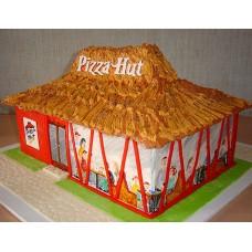"""Корпоративный торт  """"Пиццерия Hut"""""""