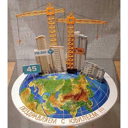 """Корпоративный торт """"Лизинговая компания"""""""