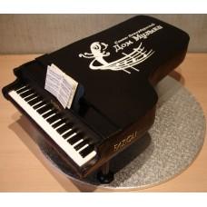 """Торт """"Черный Клавесин"""""""