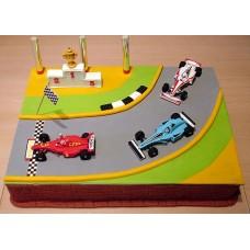 "Детский торт ""Формула-1"""
