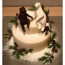 """Детский торт """"Два медведя"""""""