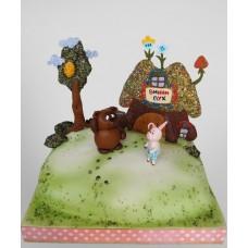 """Детский торт """"Винни-Пух и Пятачок"""""""