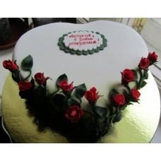 """Торт """"Красная роза"""""""