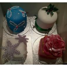 """Пирожные на Новый год """"Рождественские свечи"""""""