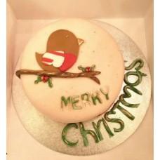 "Новогодний торт на заказ ""С Рождеством!"""