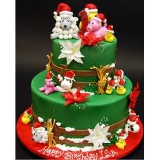 """Новогодний торт на заказ """"Первый Новый год!"""""""