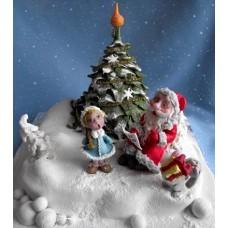 "Новогодний торт на заказ ""Новогодние песенки"""