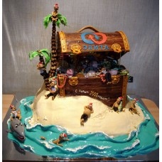 "Новогодний торт на заказ ""Элита"""