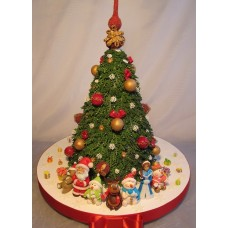 "Новогодний торт на заказ ""Хоровод под ёлочкой"""