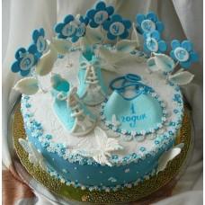 """Детский торт  """"Сынульке годик"""""""