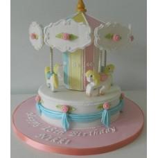 """Детский торт """"Веселая карусель"""""""