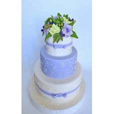 """Свадебный торт """"Седьмое небо"""""""