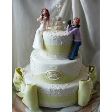 """Свадебный торт """"Фотосессия"""""""