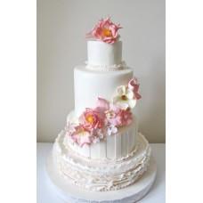 """Свадебный торт """"Прекрасный сад"""""""