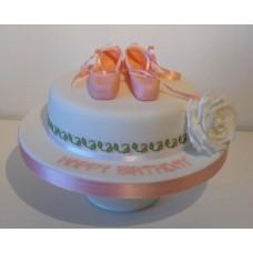 """Торт """"Балетная обувь"""""""