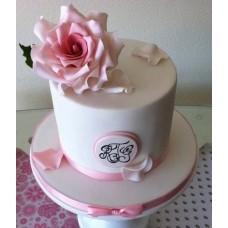 """Торт """"Шляпка с розой"""""""