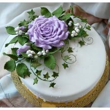 """Торт на юбилей """"Роза чайно-гибридная"""""""
