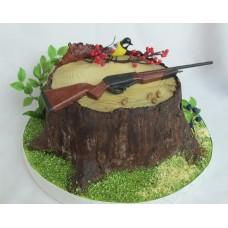 """Торт """"Оружие для охоты"""""""