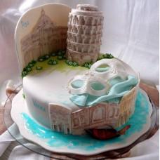 """Торт """"Поездка в Италию"""""""