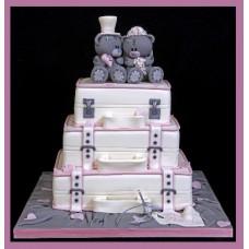 """Торт на день влюбленных """"Медовый месяц"""""""