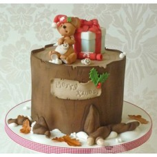 "Новогодний торт на заказ ""Новогодний мышенок"""