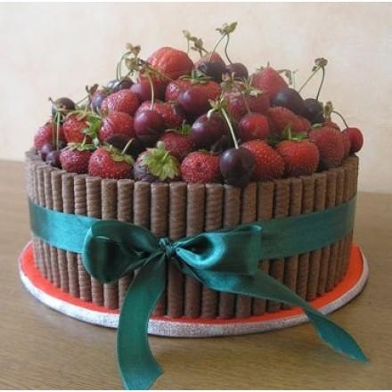 """Торт """"Сочные ягоды"""""""