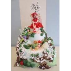 """Новогодний торт """"Зимняя фея"""""""