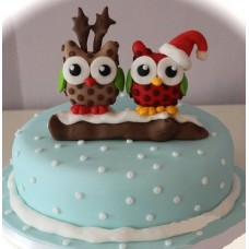 "Торт ""Друзья совята"""