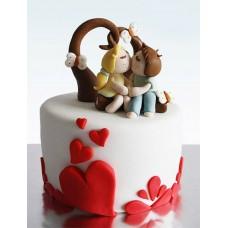 """Торт на 14 февраля """"Влюбленность"""""""