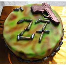 """Торт на 23 февраля """"Боевой набор"""""""