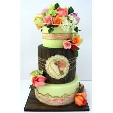 """Торт """"Разнообразие цветов"""""""