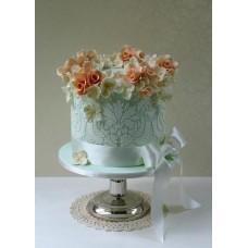 "Торт на 8 марта ""Желанные цветы"""