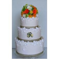 """Свадебный торт """"Мечта невесты"""""""