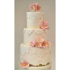 """Свадебный торт """"Ажурный"""""""