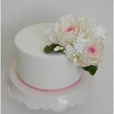"""Свадебный торт """"Просто и оригинально"""""""