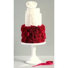 """Свадебный торт """"Райский сад"""""""
